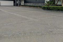 Basalt Sets in Driveway