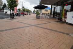 Nubrik clay paving At Leamington