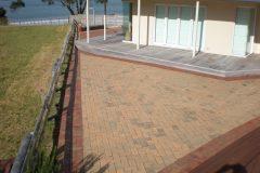 coro-deck clay pavers driveway